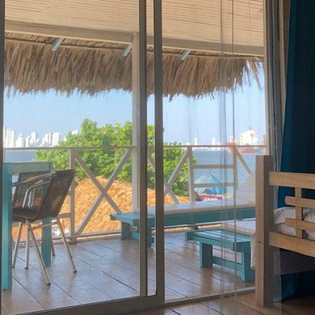 Hotel de playa en Cartagena