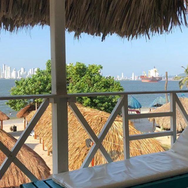 Hotel de playa en Colombia