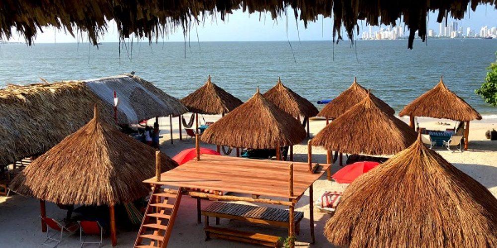 Hotel en Tierra Bomba